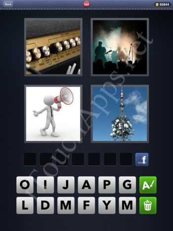 4 Pics 1 Word Level 588 Solution