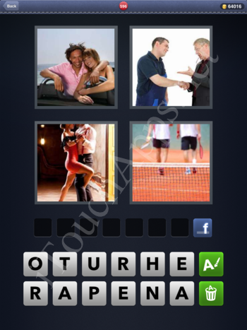 4 Pics 1 Word Level 596 Solution