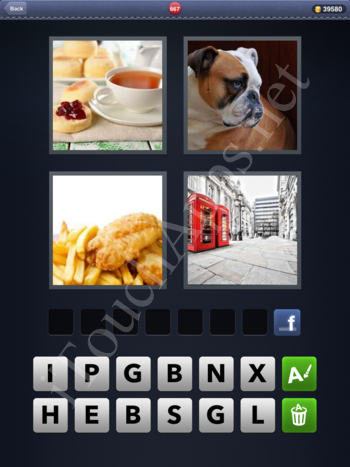4 Pics 1 Word Level 667 Solution
