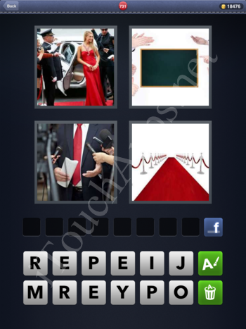 4 Pics 1 Word Level 731 Solution