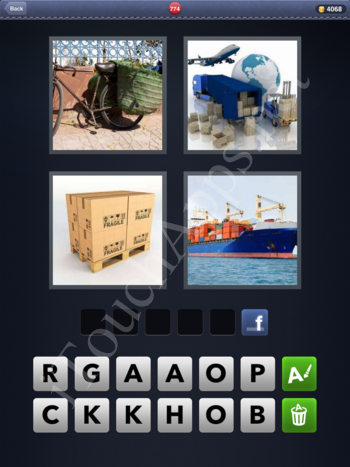 4 Pics 1 Word Level 774 Solution