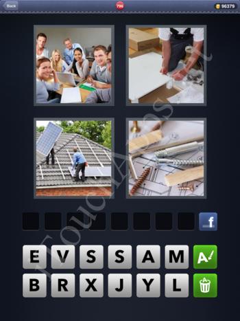 4 Pics 1 Word Level 796 Solution
