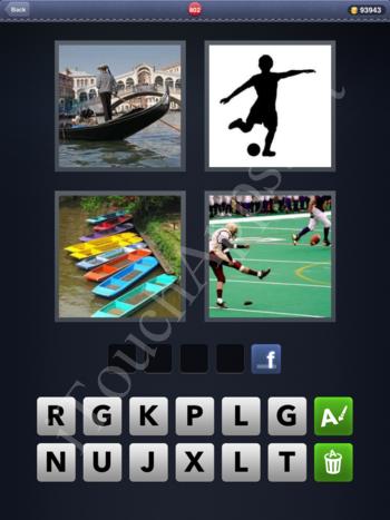 4 Pics 1 Word Level 802 Solution