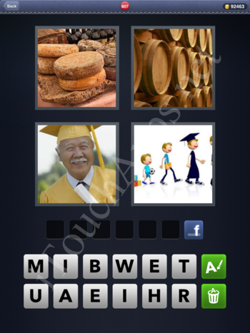 4 Pics 1 Word Level 807 Solution