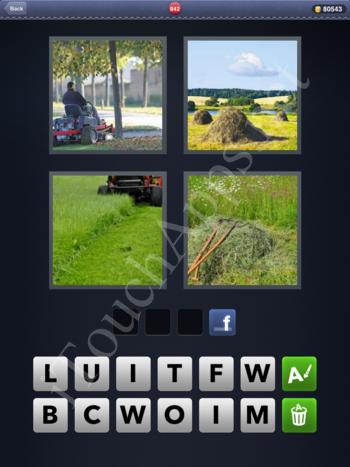 4 Pics 1 Word Level 842 Solution