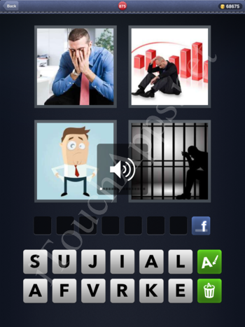 4 Pics 1 Word Level 875 Solution
