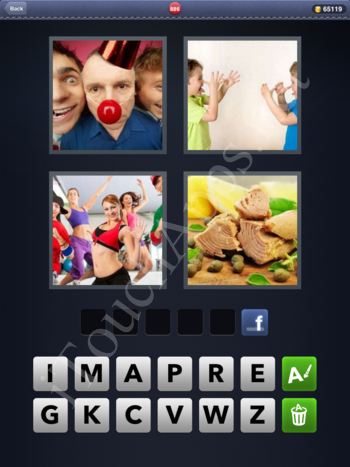 4 Pics 1 Word Level 886 Solution