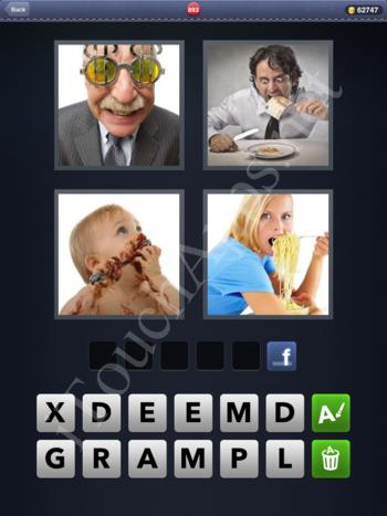 4 Pics 1 Word Level 893 Solution