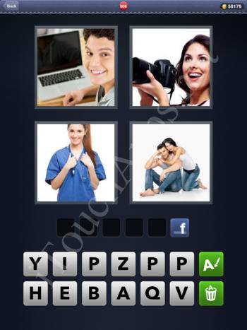 4 Pics 1 Word Level 906 Solution