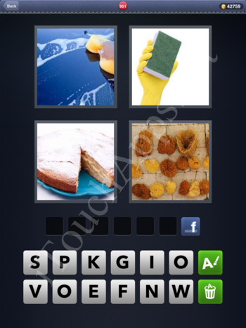 4 Pics 1 Word Level 951 Solution