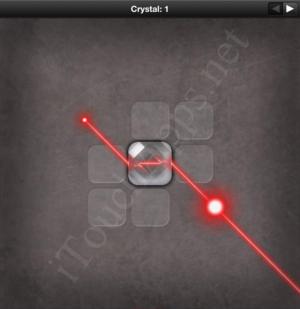 Lazors Crystal 1 Solution