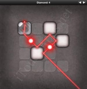 Lazors Diamond 4 Solution