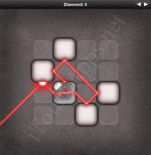 Lazors Diamond 5 Solution