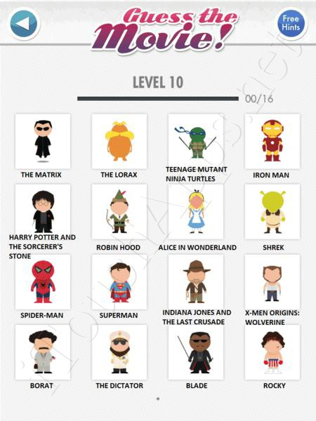 Guess the character level 10-86 investments a grade investments uber