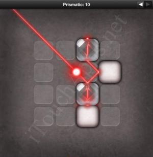 Lazors Prismatic 10 Solution
