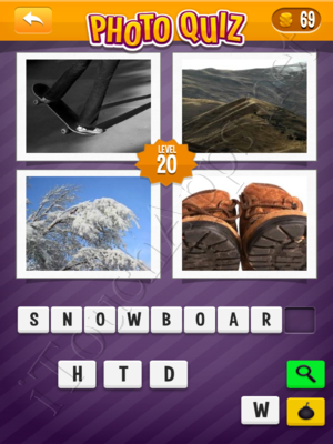 Photo Quiz Sports Pack Level 20 Solution