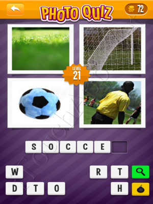 Photo Quiz Sports Pack Level 21 Solution