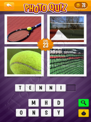 Photo Quiz Sports Pack Level 23 Solution