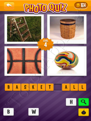 Photo Quiz Sports Pack Level 4 Solution