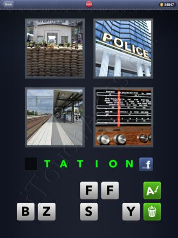 4 Pics 1 Word Level 1018 Solution