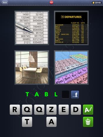 4 Pics 1 Word Level 1027 Solution