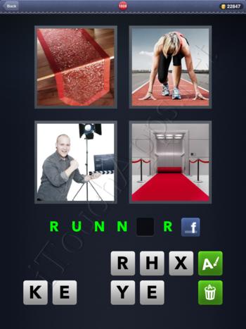 4 Pics 1 Word Level 1028 Solution