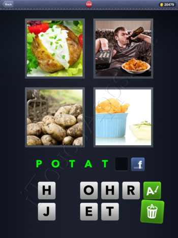 4 Pics 1 Word Level 1036 Solution