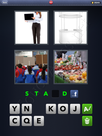 4 Pics 1 Word Level 1037 Solution