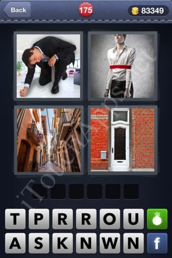 4 Pics 1 Word Level 175 Solution