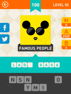 Icon Pop Mania Level Level 5 Pic 100 Answer