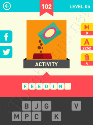 Icon Pop Word Level Level 5 Pic 102 Answer