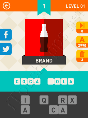 Icon Pop Mania Game Answers / Solutions