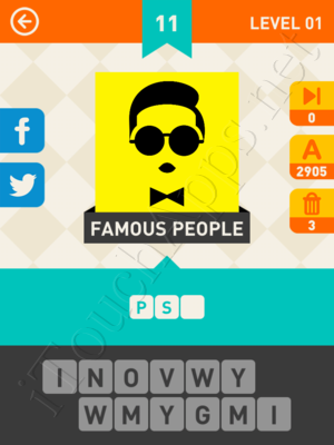 Icon Pop Mania Level Level 1 Pic 11 Answer