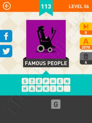 Icon Pop Mania Level Level 6 Pic 113 Answer