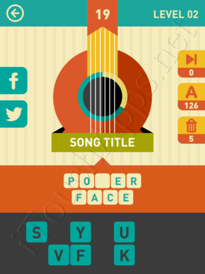 Icon Pop Song Level Level 2 Pic 19 Answer