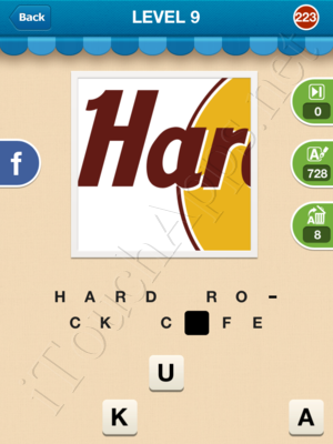 Hi Guess the Brand Level Level 9 Pic 223 Answer