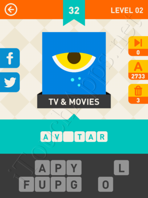 Icon Pop Mania Level Level 2 Pic 32 Answer