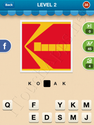 Hi Guess the Brand Level Level 2 Pic 38 Answer