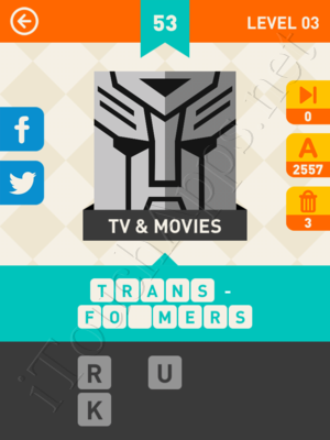 Icon Pop Mania Level Level 3 Pic 53 Answer