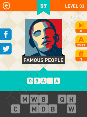 Icon Pop Mania Level Level 3 Pic 57 Answer