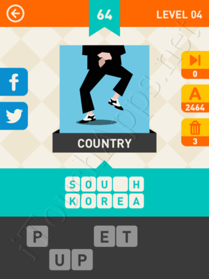 Icon Pop Mania Level Level 4 Pic 64 Answer