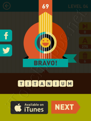 Icon Pop Song Level Level 4 Pic 68 Answer