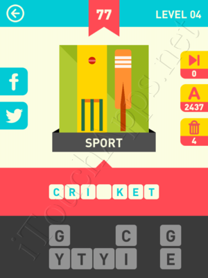 Icon Pop Word Level Level 4 Pic 77 Answer