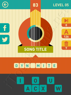Icon Pop Song Level Level 5 Pic 83 Answer