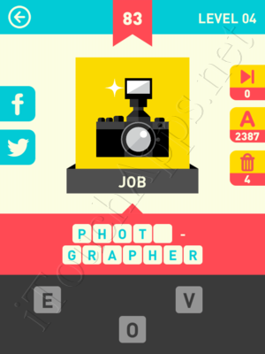 Icon Pop Word Level Level 4 Pic 83 Answer