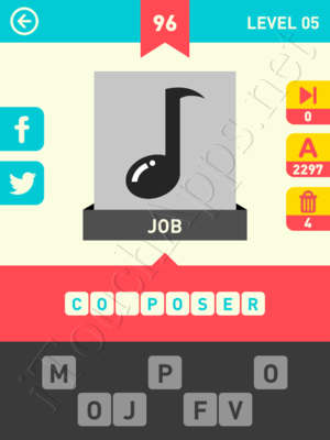Icon Pop Word Level Level 5 Pic 96 Answer