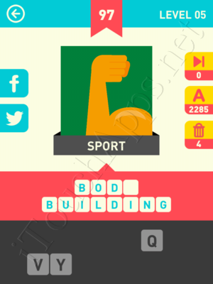 Icon Pop Word Level Level 5 Pic 97 Answer