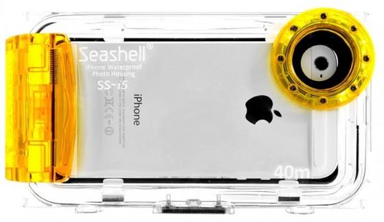 Seashell Waterproof Photo Housing Underwater Case