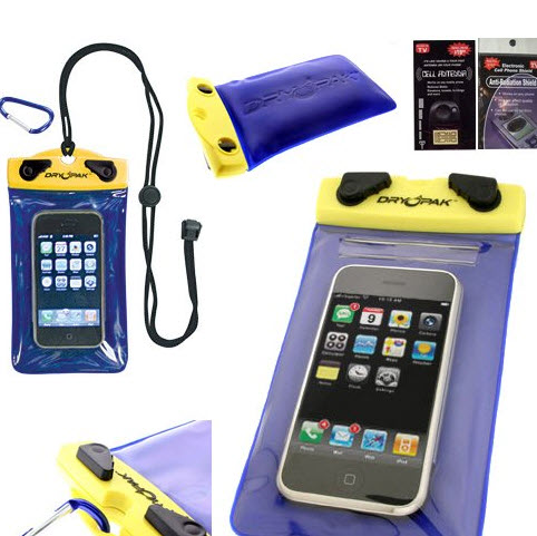 iPhone 5 DryPak Floating Waterproof Phone Holder Case