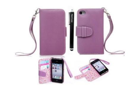 Hanicase Wallet Leather Case for iPhone 5S